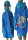 d456cc5ea Detský pršiplášť s motívom modrý